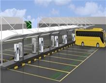 最大公交车充电站今起使用